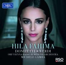 Hila Fahima - Donizetti / Verdi, CD