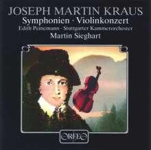 Josef Martin Kraus (1756-1792): Symphonie funebre c-moll (120 g), LP