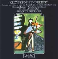 Krzysztof Penderecki (1933-2020): Violinkonzert Nr.1 (1976), CD