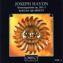 Joseph Haydn (1732-1809): Streichquartette Nr.31-33 (op.20 Nr.1-3), CD