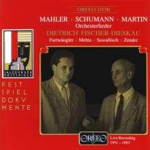 Dietrich Fischer-Dieskau singt Orchesterlieder, CD