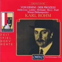 Gottfried von Einem (1918-1996): Der Prozess, 2 CDs