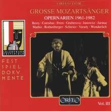Große Mozartsänger Vol.3, CD