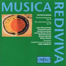 Viktor Ullmann (1898-1944): Der zerbrochene Krug op.36 (Oper nach Kleist), CD