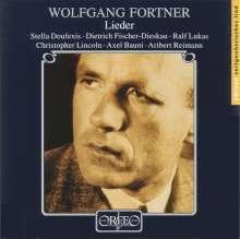 Wolfgang Fortner (1907-1987): Lieder, CD