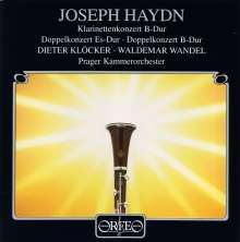 Joseph Haydn (1732-1809): Konzerte für 2 Klarinetten in Es & B, CD