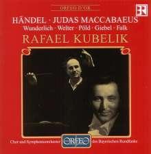 Georg Friedrich Händel (1685-1759): Judas Maccabaeus (in dt.Spr.), 2 CDs