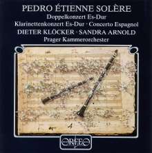 Pedro Etienne Solere (1753-1817): Klarinettenkonzert in Es, CD