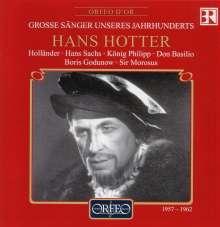 Hans Hotter - Opernmonologe 1957-1962, CD