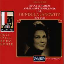 Gundula Janowitz - Salzburger Festspiele 1972, CD