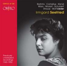 Irmgard Seefried - Lieder, CD
