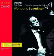 Richard Wagner (1813-1883): 3 Opern, 9 CDs