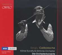 Sergiu Celibidache & Kölner Rundfunk-Sinfonie-Orchester - Die Orchesterkonzerte, 5 CDs