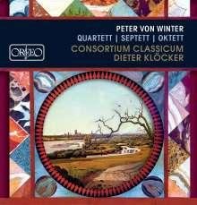 Peter von Winter (1754-1825): Septett op.10, CD