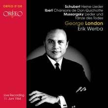 George London singt Lieder, CD