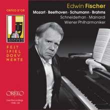 Edwin Fischer - Salzburger Festspiele, 4 CDs
