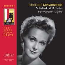 Elisabeth Schwarzkopf - Lieder von Schubert & Wolf, 3 CDs