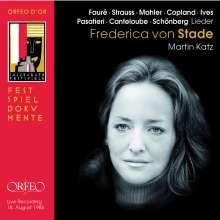 Frederica von Stade singt Lieder, CD