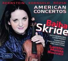 Baiba Skride - American Concertos, CD