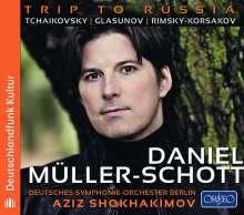 Daniel Müller-Schott - Trip to Russia, CD