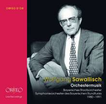 Wolfgang Sawallisch - Orchestermusik, 8 CDs