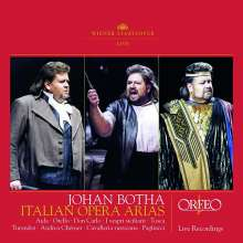 Johan Botha - Italian Opera Arias, 2 CDs