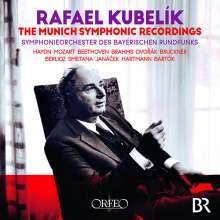 Rafael Kubelik - The Munich Symphonic Recordings, 15 CDs