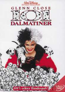 101 Dalmatiner (1996), DVD