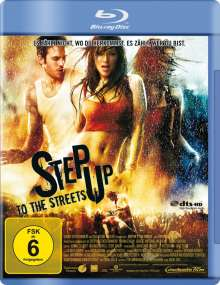 Step Up To The Streets (Blu-ray), Blu-ray Disc