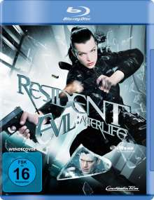 Resident Evil: Afterlife (Blu-ray), Blu-ray Disc
