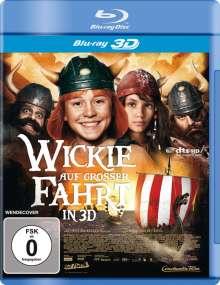 Wickie auf großer Fahrt (3D Blu-ray), Blu-ray Disc