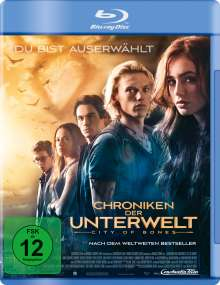 Chroniken der Unterwelt - City of Bones (Blu-ray), Blu-ray Disc