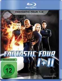 Fantastic Four 1+2 (Blu-ray), 2 Blu-ray Discs