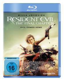 Resident Evil: The Final Chapter (Blu-ray), Blu-ray Disc