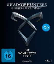 Shadowhunters: Chroniken der Unterwelt (Komplette Serie) (Blu-ray), 12 Blu-ray Discs