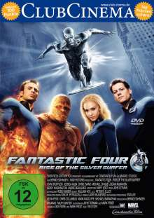 Fantastic Four - Rise of the Silver Surfer, DVD