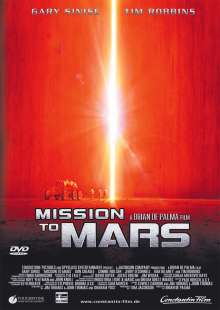 Mission To Mars, DVD