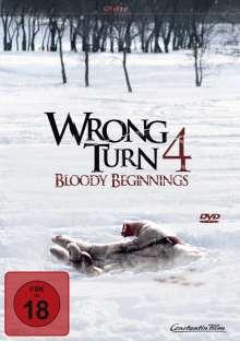 Wrong Turn 4 - Bloody Beginnings, DVD