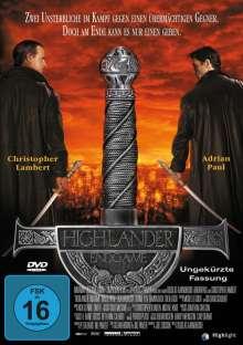 Highlander 4 - Endgame, DVD