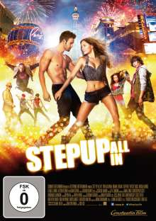 Step Up 5: All In, DVD