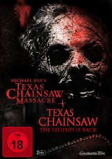 Michael Bay's Texas Chainsaw Massacre / Texas Chainsaw The Legend ist Back, 2 DVDs
