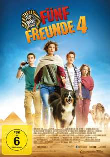 Fünf Freunde 4, DVD