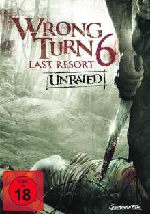 Wrong Turn 6 - Last Resort, DVD