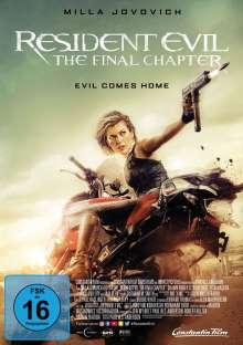 Resident Evil: The Final Chapter, DVD