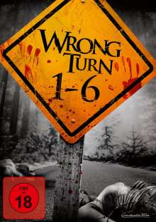 Wrong Turn 1-6, 6 DVDs