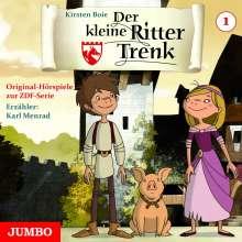 Kirsten Boie: Der kleine Ritter Trenk, 1 Audio-CD. Folge.1, CD