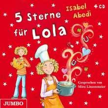 Isabel Abedi: 5 Sterne für Lola, 4 CDs