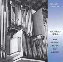 Siegfried Reda spielt Pepping, David, Reda, Hindemith, CD