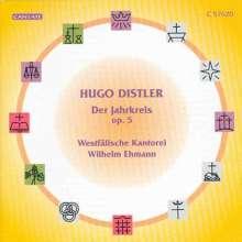 Hugo Distler (1908-1942): Der Jahreskreis op.5 (Ausz.), CD