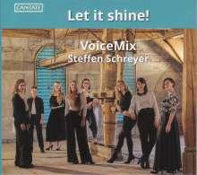 VoiceMix - Let it shine!, CD